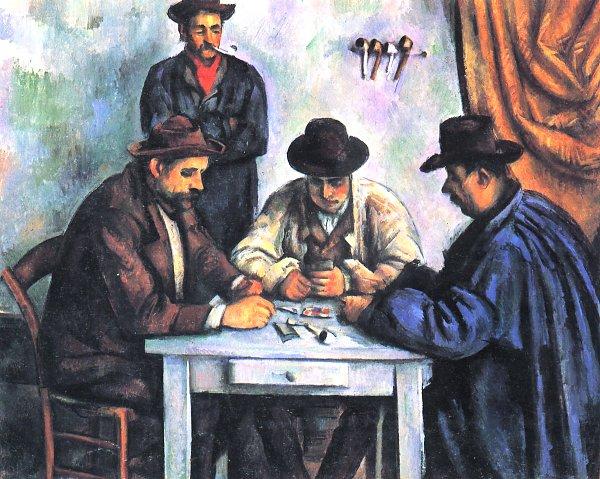 Die Kartenspieler Paul Cezanne