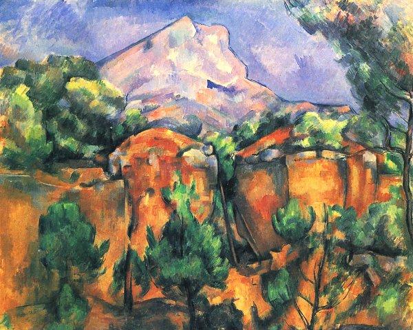 Montagne Saint Cezanne