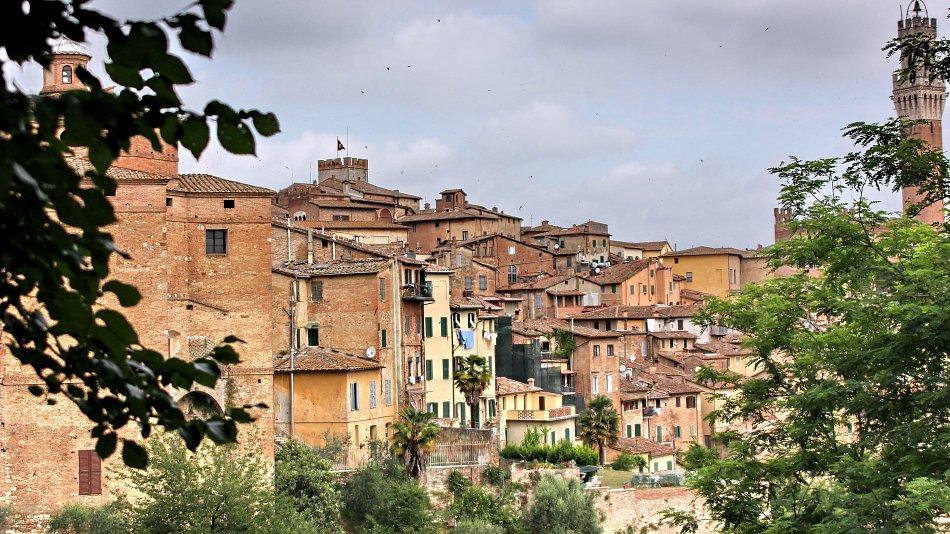italienische stadt leinwandbild auf keilrahmen bestellen